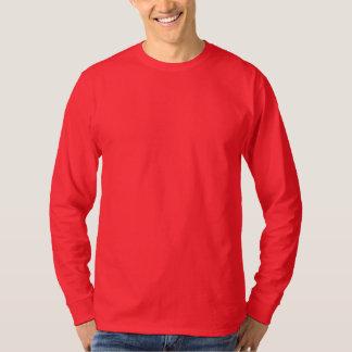 Men's Basic Long Sleeve T-Shirt DEEP RED