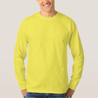 Men's Basic Long Sleeve T-Shirt YELLOW