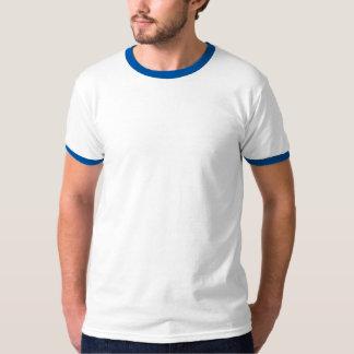 Men's Basic Ringer T-Shirt ROYAL BLUE BLU