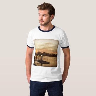 Men's Basic Ringer t shirt. T-Shirt