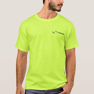 Men's Basic Safety Green T-Shirt