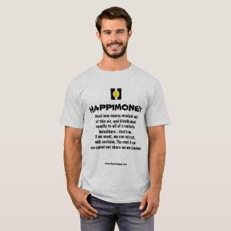 Men's basic t-shirt HAPPIMONEY
