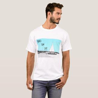 Men's Beach Bum Life Basic T-Shirt