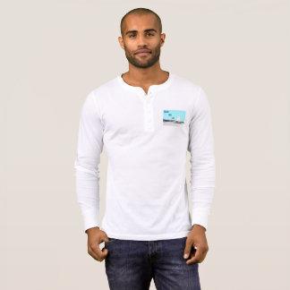 Men's Beach Bum Life Henley Long Sleeve Shirt