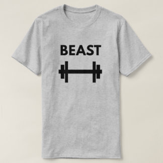 Men's Beast - Workout Power Couple T-Shirt