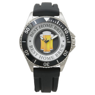 Mens Beer Theme Wrist Watch