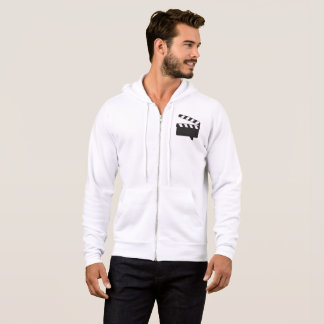 mens bella+canvas full zip hoodie