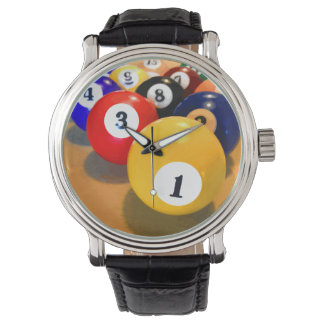 Men's Billiards Theme Watch