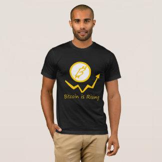 Men's Bitcoin is Rising T-Shirt