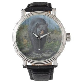 Men's Black Bear Watch
