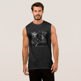 Men's Black Masquerade  T-Shirt