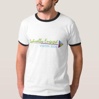 Men's Black Ringer T-Shirt