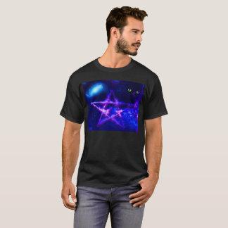 Mens Black T-shirt with spiritual design
