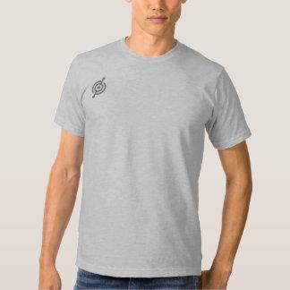 Mens Black T with white logo Tshirts