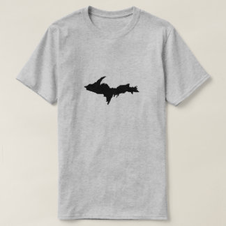 Men's Black Upper Peninsula logo shirt