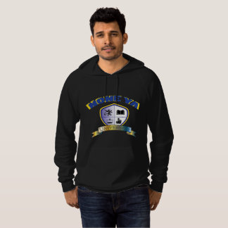 Men's Blk None Ya University Crest Hoodie