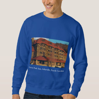 Men's Blue Sweatshirt with Grove Park Inn Photo