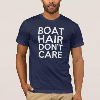 Men's Boat Hair, Don't Care - Funny Men's T-Shirt