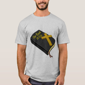 Men's Book Of Life, Gray Basic T-Shirt