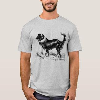 Mens Border Collie Dog T-Shirt