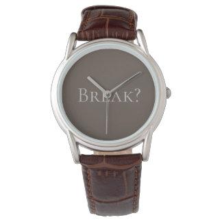Men's Break Wristwatch