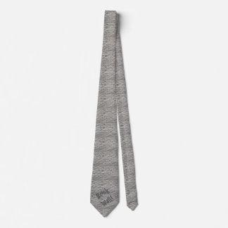 Men's Brick Wall Neck Tie