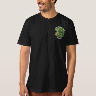 Men's Bushwhacking Fool (white) Organic T-Shirt