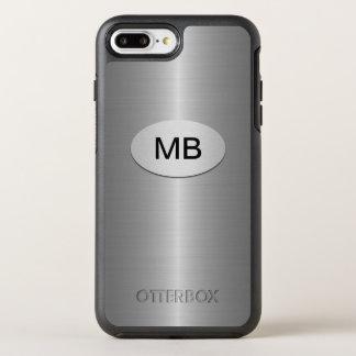 Mens Business Monogram Design OtterBox Symmetry iPhone 8 Plus/7 Plus Case