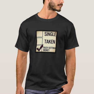 Men's Busy getting Money Fashion T-shirt