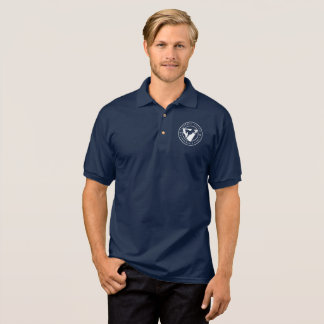 Men's Cabarrus Democrats Polo Shirt- Navy