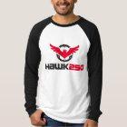 Men's Canvas Long Sleeve Raglan Hawk 250 T-Shirt
