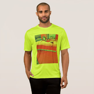 Men's car as a sketch t-shirt