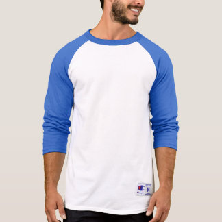 Men's Champion 3/4 Sleeve Raglan T-Shirt