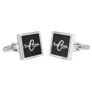mens chapel brook cufflinks silver finish cufflinks