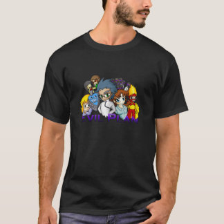 Men's Chibi Cast (Dark) T-Shirt