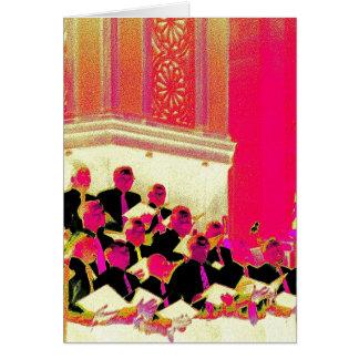Men's Chorus Giving Voice Greeting Card