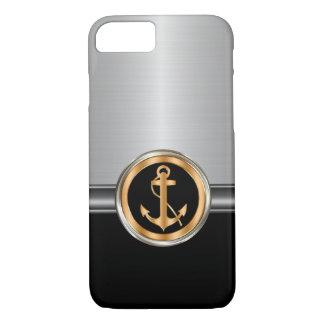 Men's Classy Boat Anchor iPhone 7 Case