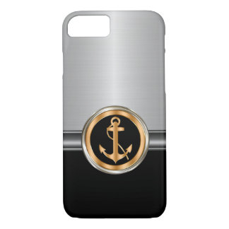 Men's Classy Boat Anchor iPhone 8/7 Case