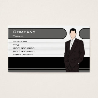 Men's Clothing Business Card