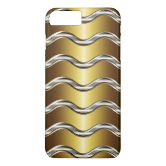Men's Cool Luxury Gold Look iPhone 7 case