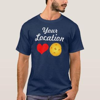 Men's Custom Location Pickleball T-shirt