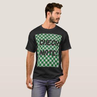 Men's Dark checked T-Shirt
