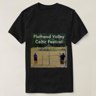 Men's Dark T-Shirt Flathead Valley Celtic Festival