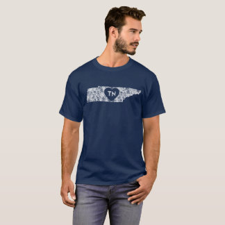 Men's Dark T-Shirt Used I Love Tennessee State