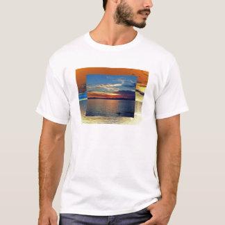men's destroyed t-shirt 00118C01