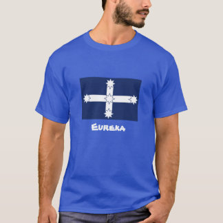 Mens Eureka shirt with quote
