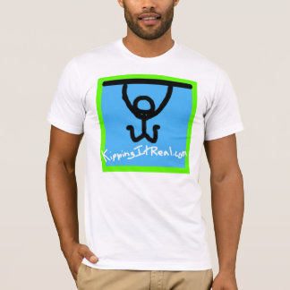 Men's Fitted T-Shirt Square Logo