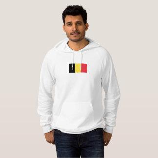 Mens Flag of Belgium Hoodie