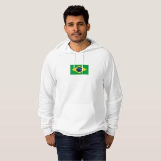 Mens Flag of Brazil Hoodie