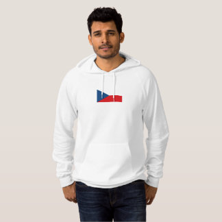 Mens Flag of Czech Republic Hoodie